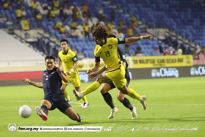 Thailand 0-1 Malaysia