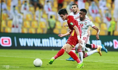 UAE 3-2 Việt Nam