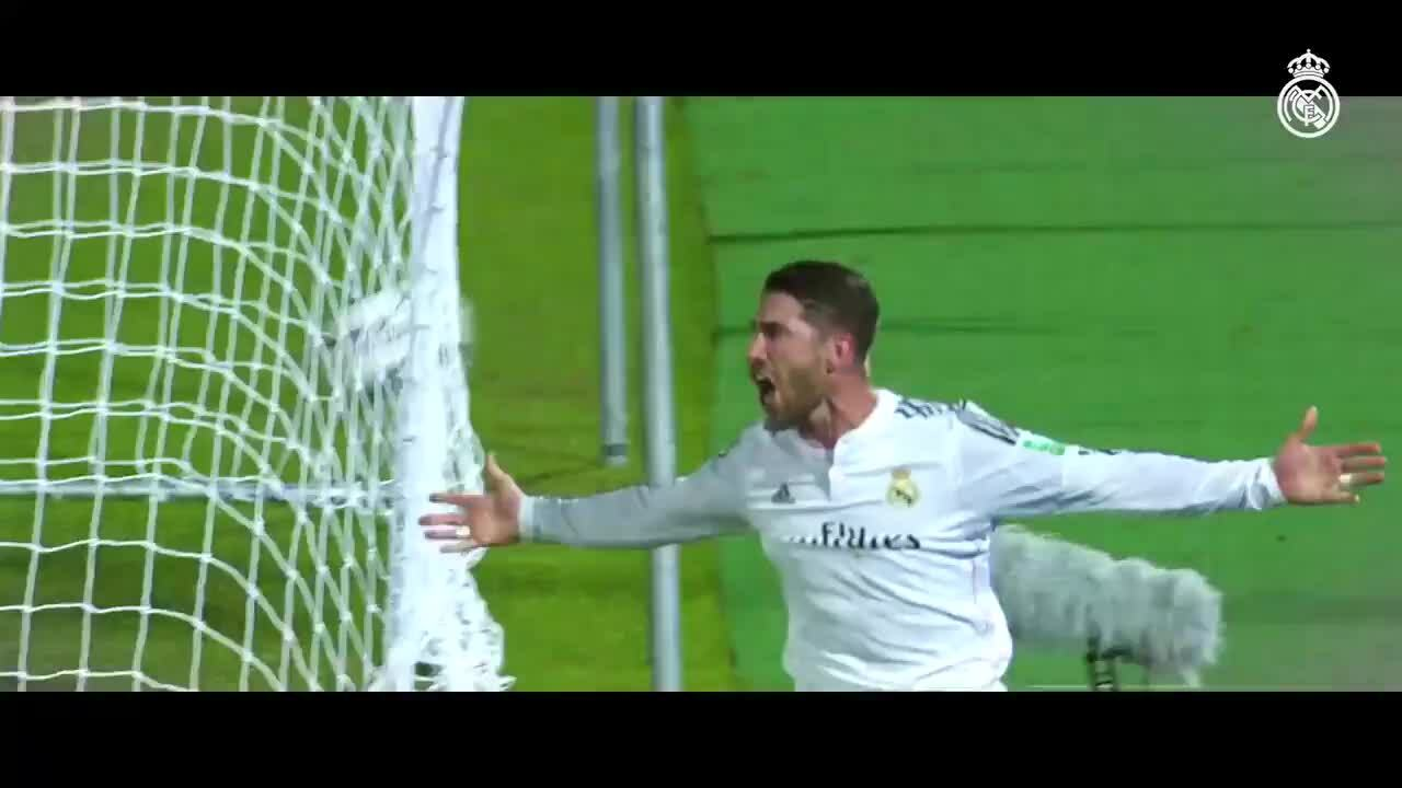 Momen Sergio Ramos di Real