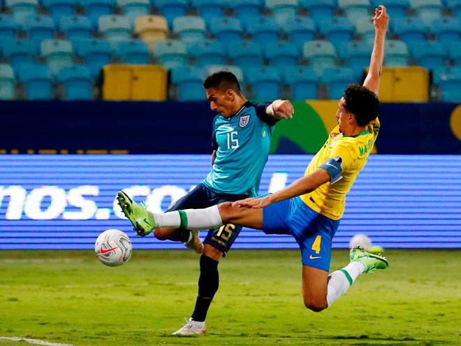 บราซิล 1-1 เอกวาดอร์