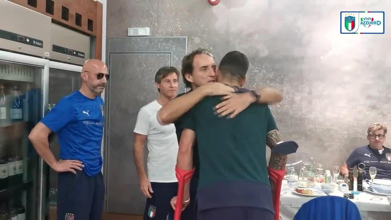 Tim Italia mengirim Spinazzola ke rumah pemulihan