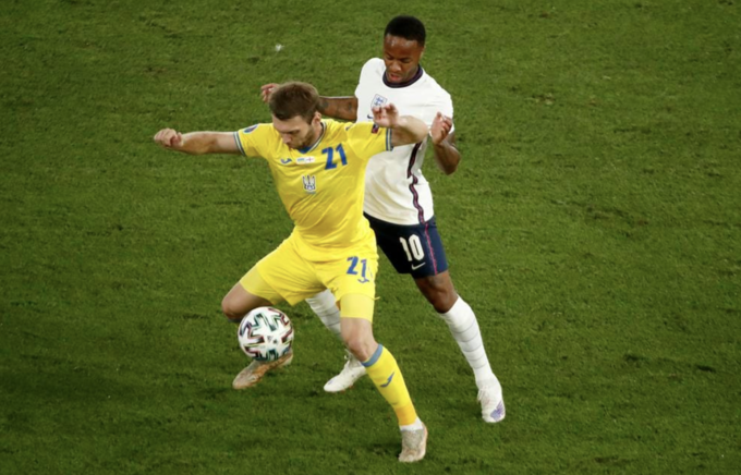 Ukraine 0-4 Anh
