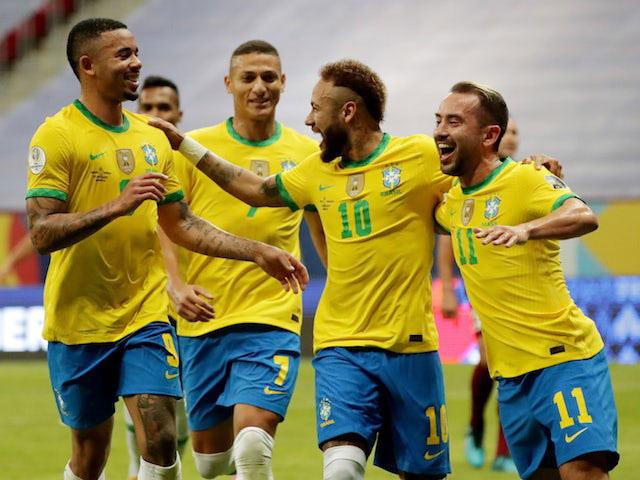 Peru 0-1 Brazil