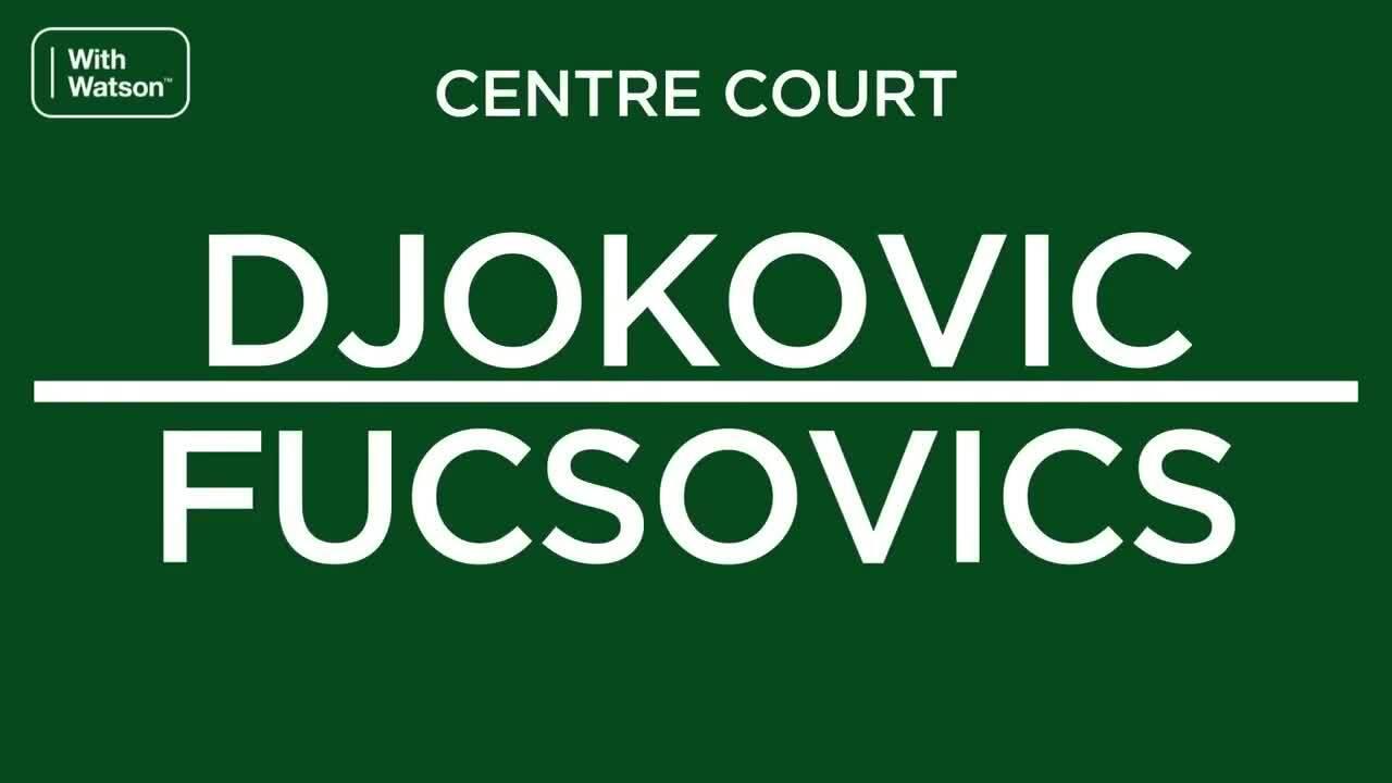 Djokovic 3-0 Fucsovics