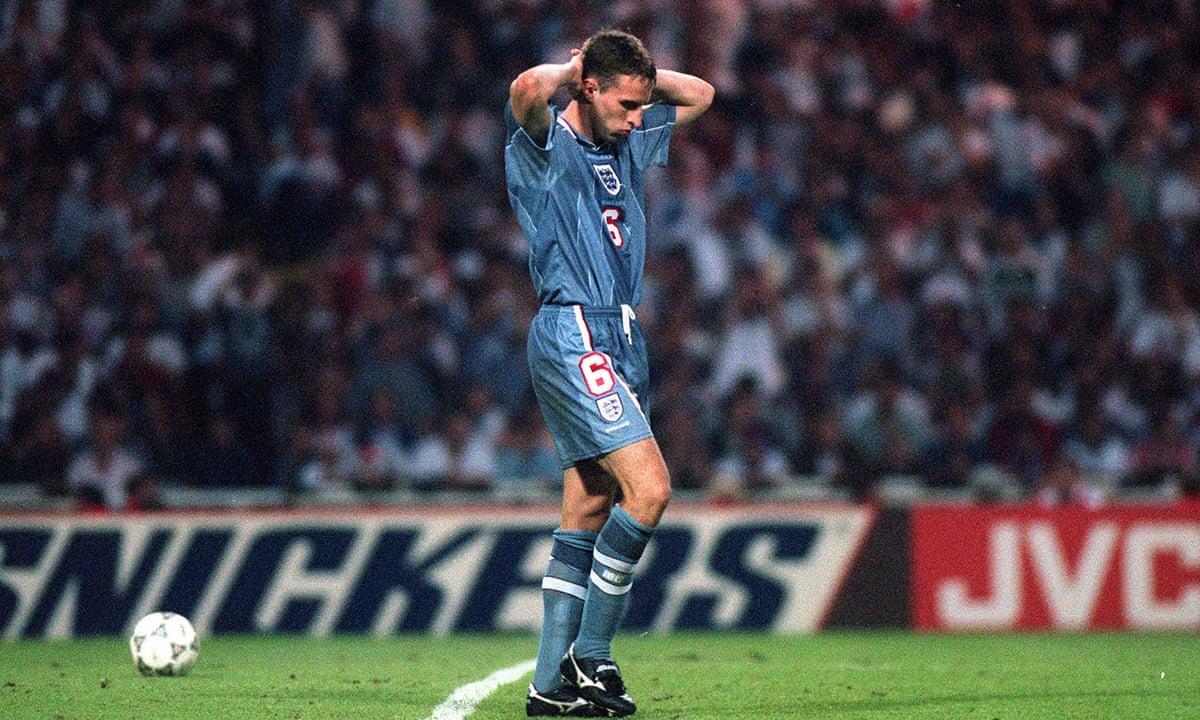 Southgate đá hỏng luân lưu khiến Anh thua Đức năm 1996