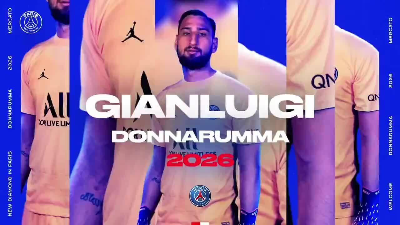 PSG công bố Donnarumma