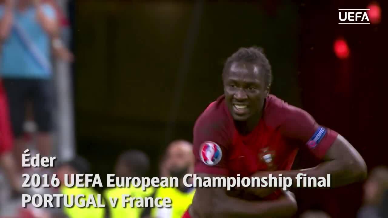 Eder ghi bàn ở chung kết Euro 2016
