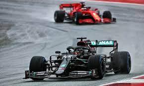 Hamilton finis pertama untuk menghadang GP Inggris
