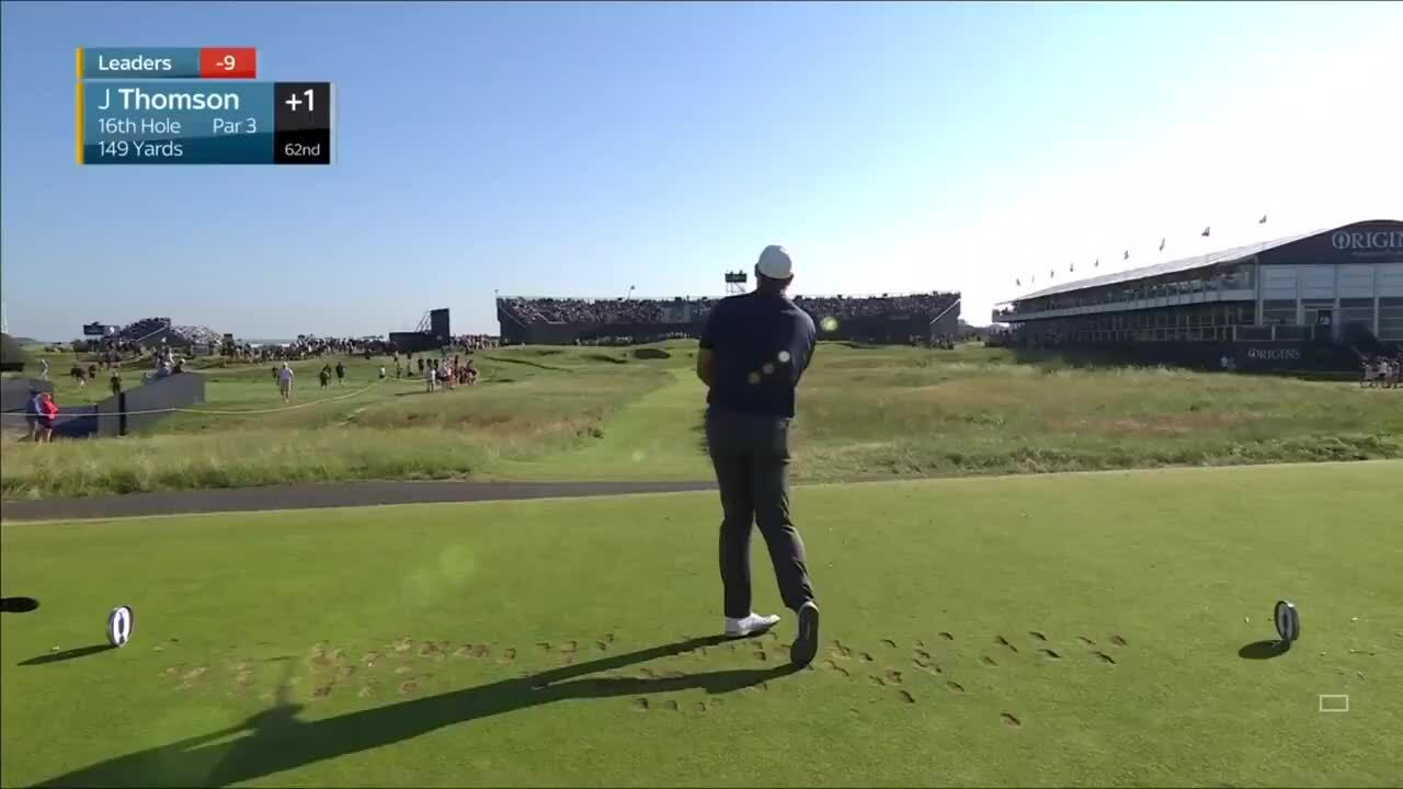 Jonathan Thomson ghi hole-in-one