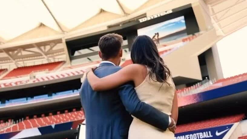 Llorente เสนอให้แฟนสาวของเขาในสนาม Atletico