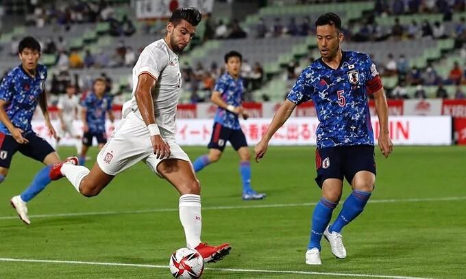 Nhật Bản 1-1 Tây Ban Nha