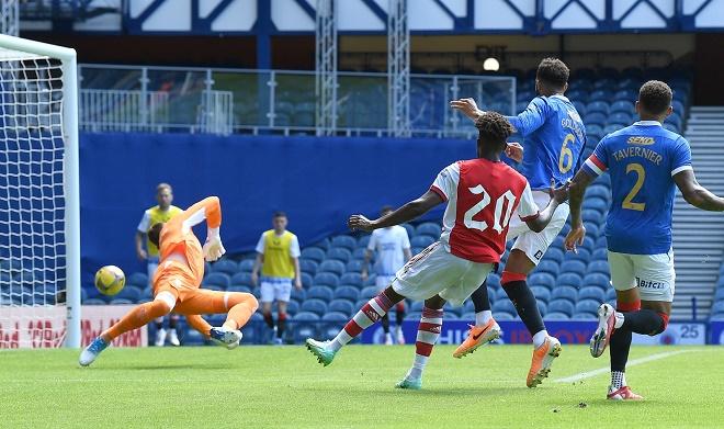 Rangers 2-2 Arsenal