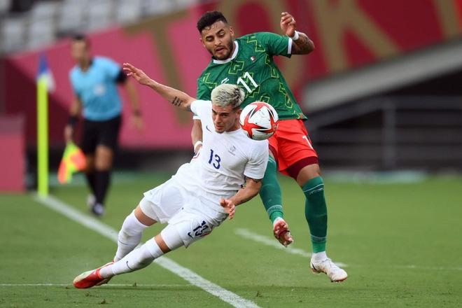 Mexico 4-1 Pháp