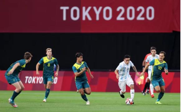 U23 Argentina 0-2 U23 Australia