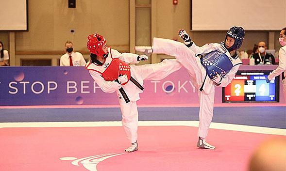 Kim Tuyen memenangkan kemenangan Olimpiade pertamanya
