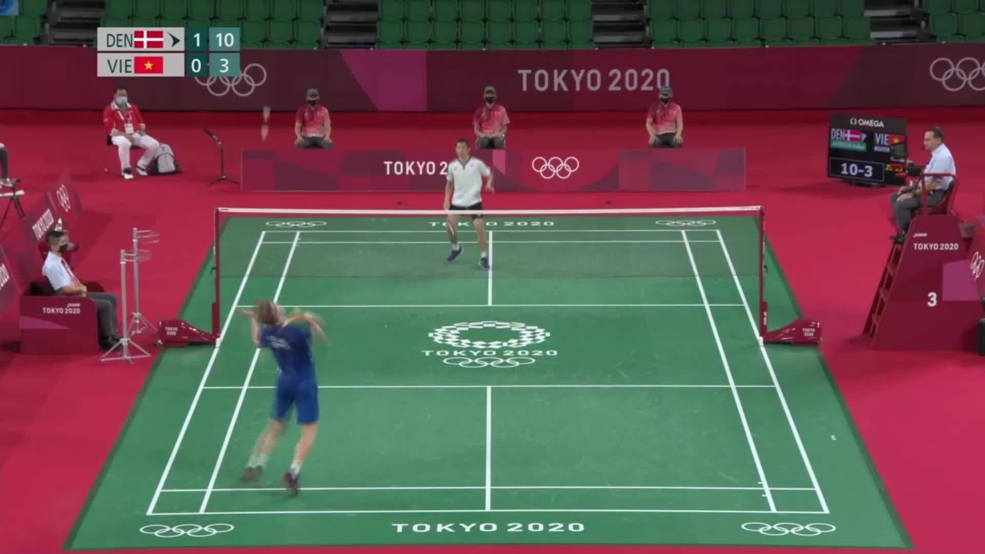 Tien Minh lost 6-13