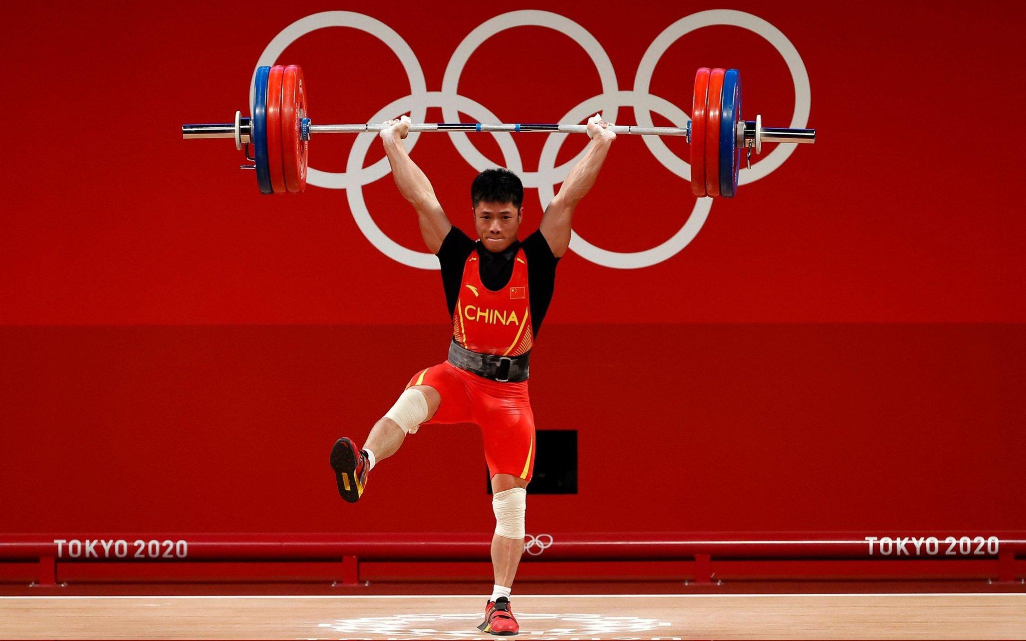 VĐV Trung Quốc phá kỷ lục Olympic ở môn cử tạ