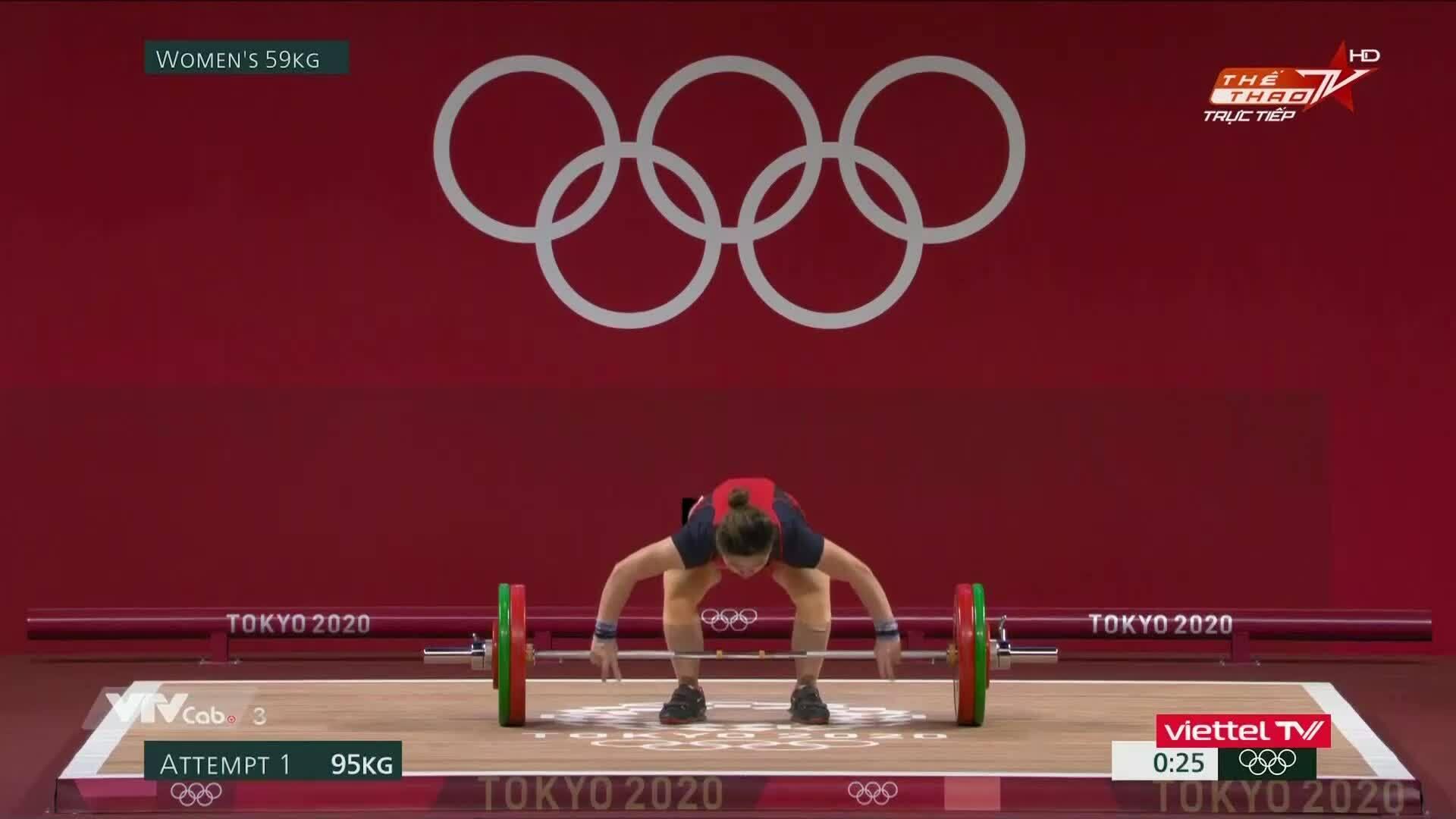 Hoang Thi Duyen gagal di 95kg