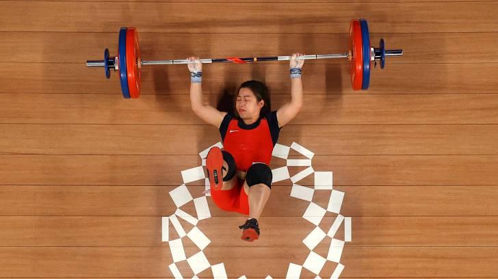 Hoàng Thị Duyên tuột huy chương Olympic
