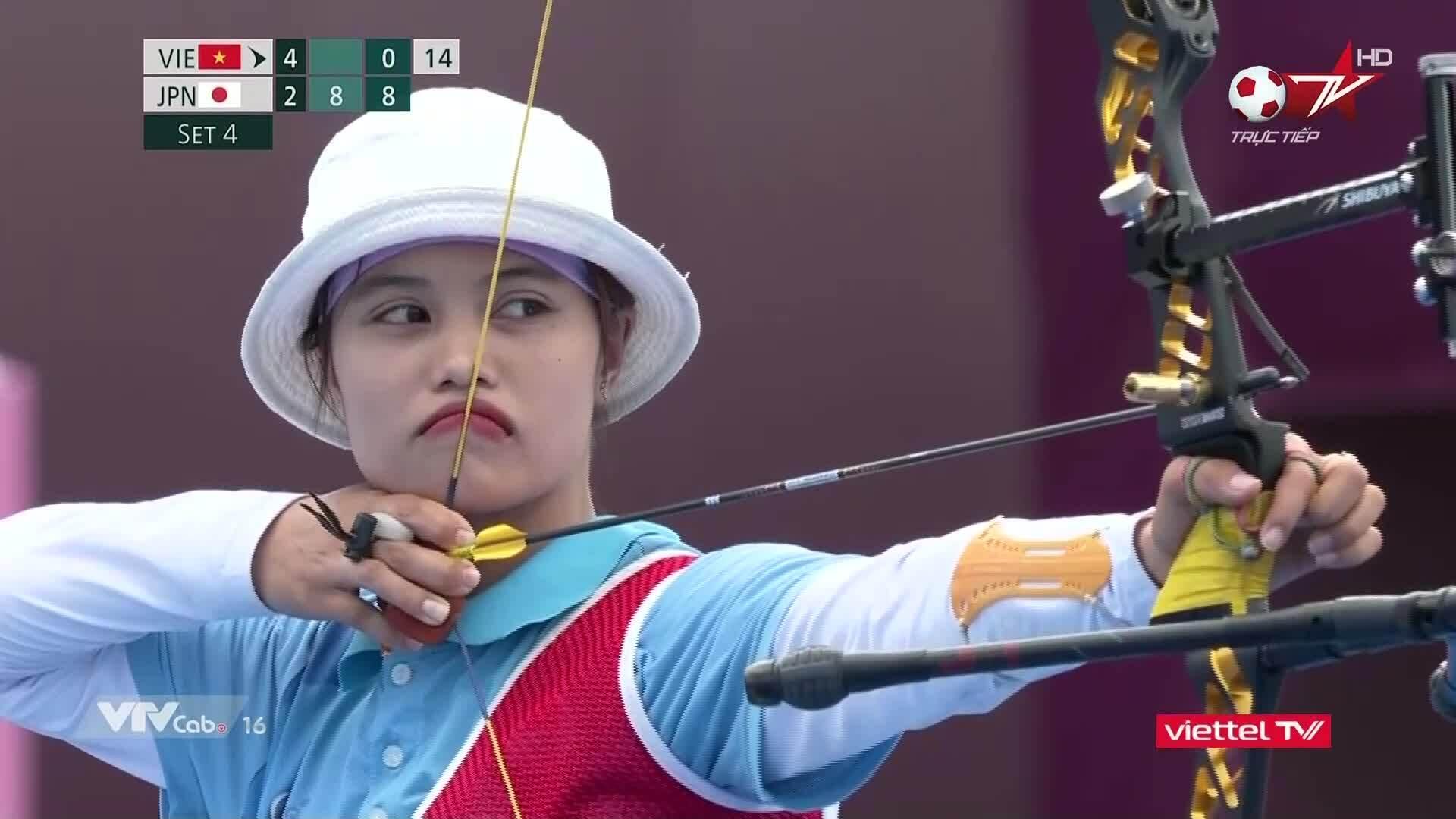 Ánh Nguyệt dừng bứơc ở Olympic