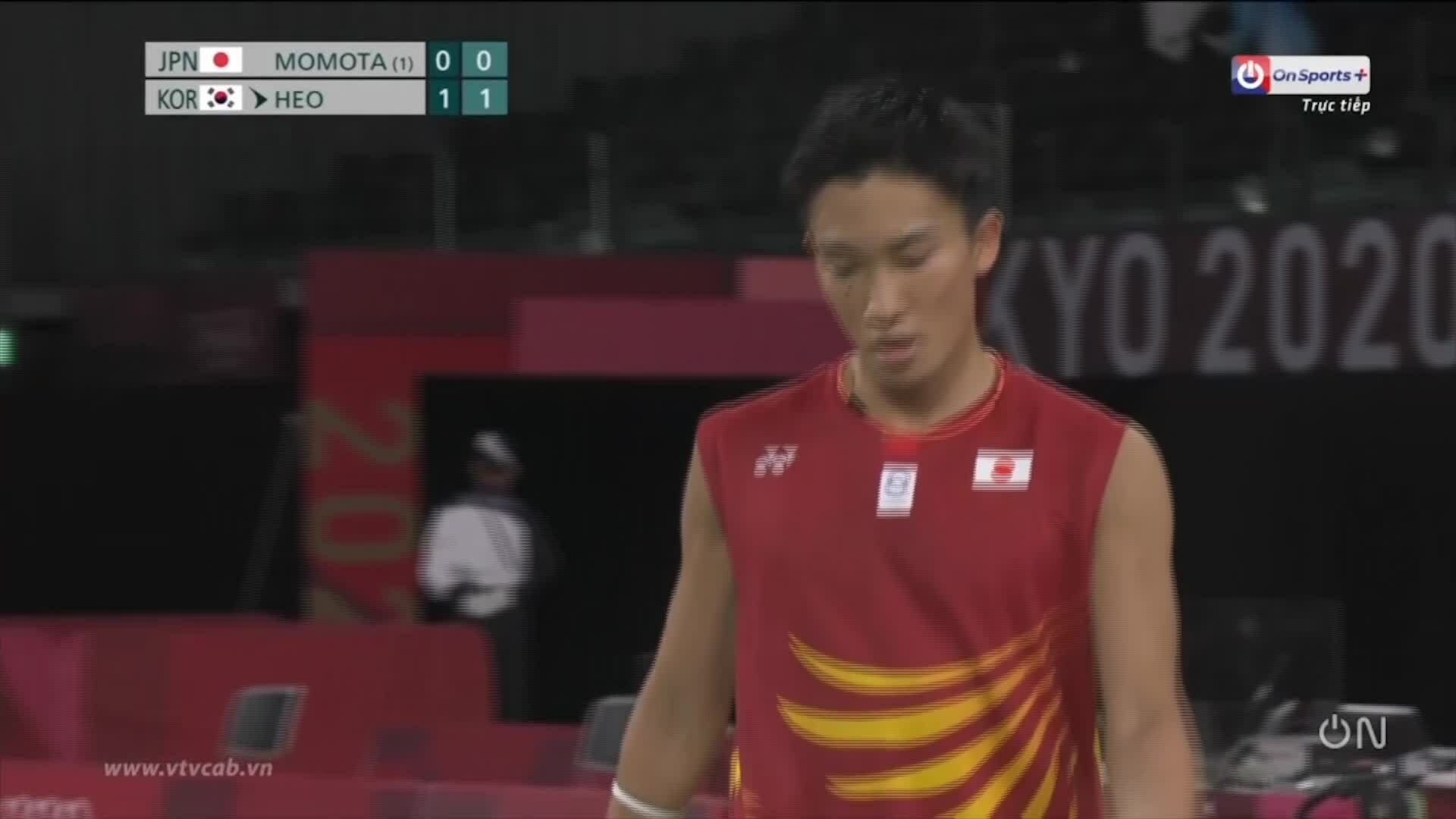 Kento Momota is eliminated