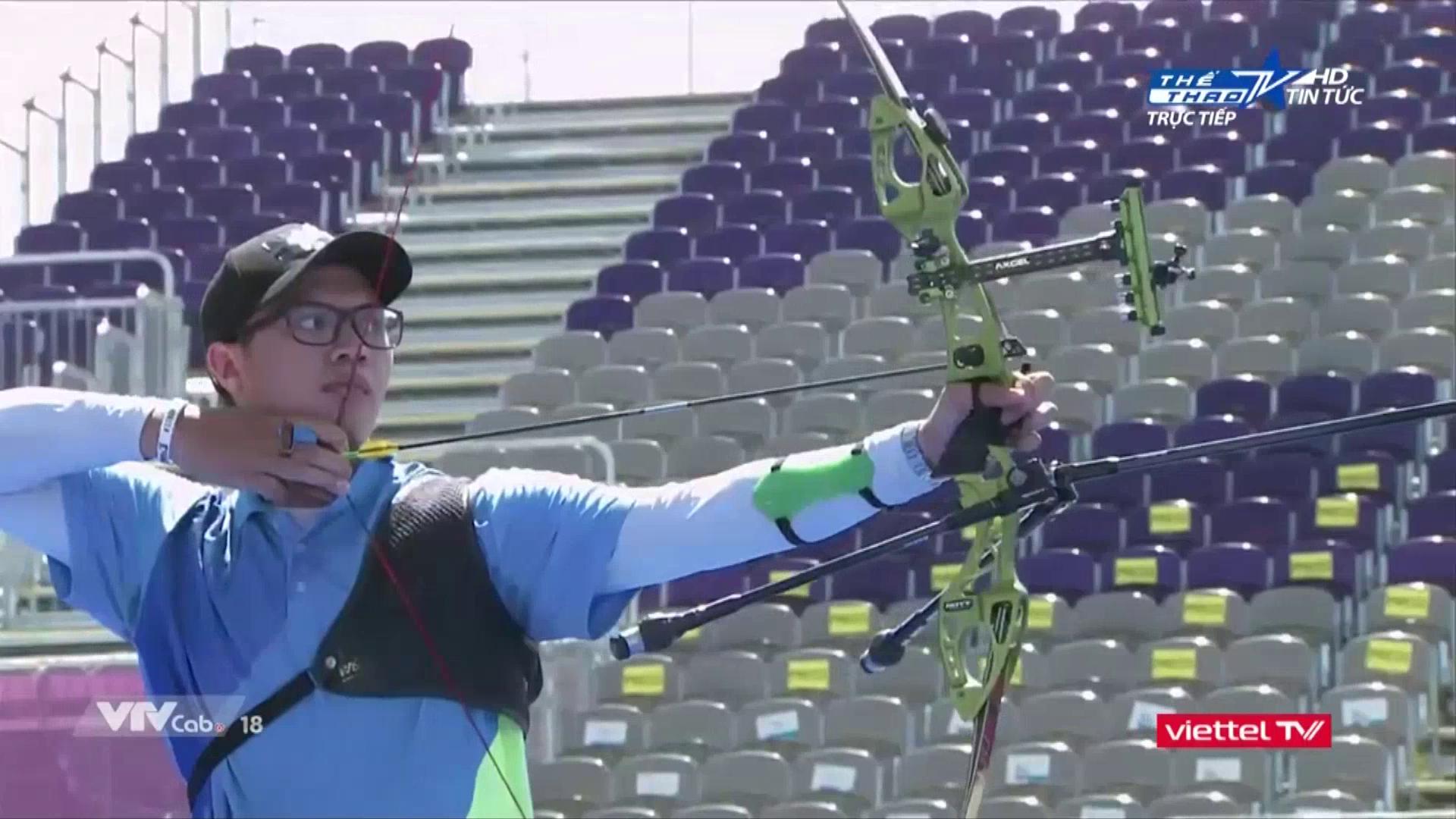 Cung thủ Phi Vũ dừng bước ở Olympic Tokyo