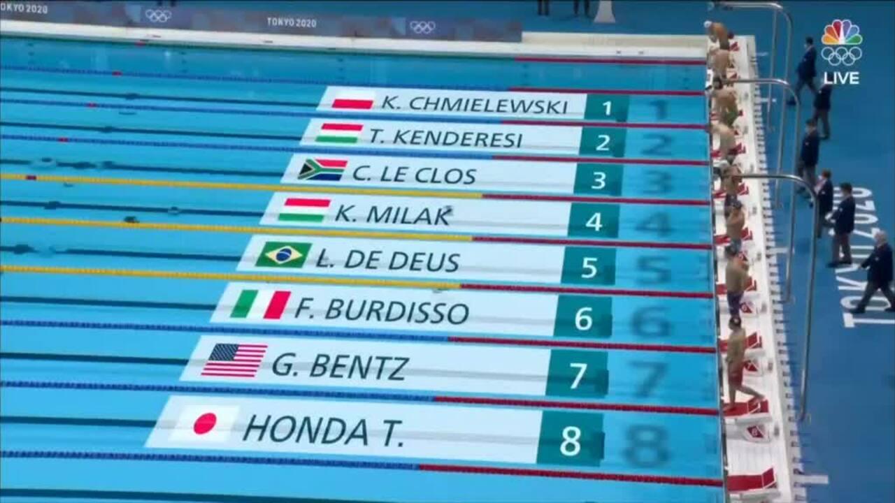Kình ngư Hungary không hài lòng dù phá kỷ lục của Phelps