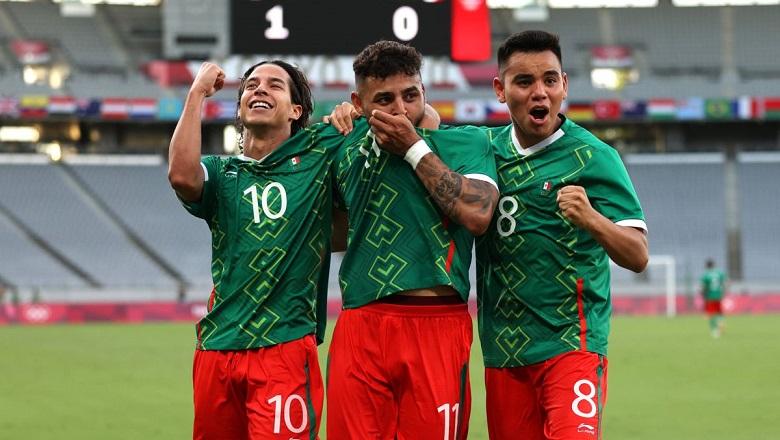 Mexico 6-3 Hàn Quốc