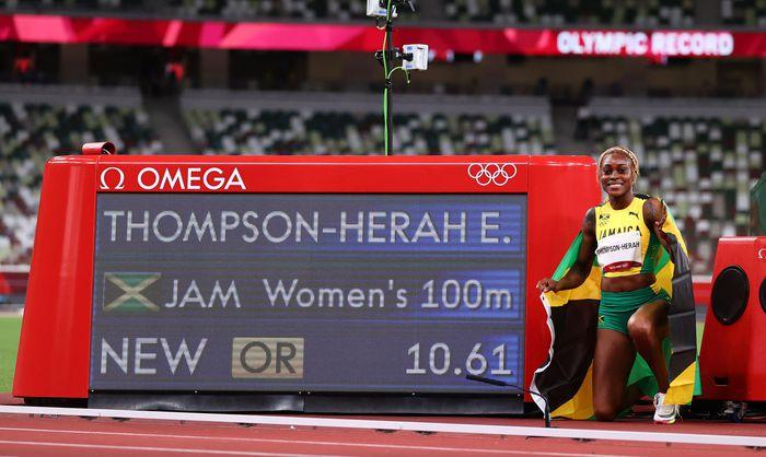 Nữ VĐV Jamaica phá kỷ lục Olympic tồn tại 33 năm