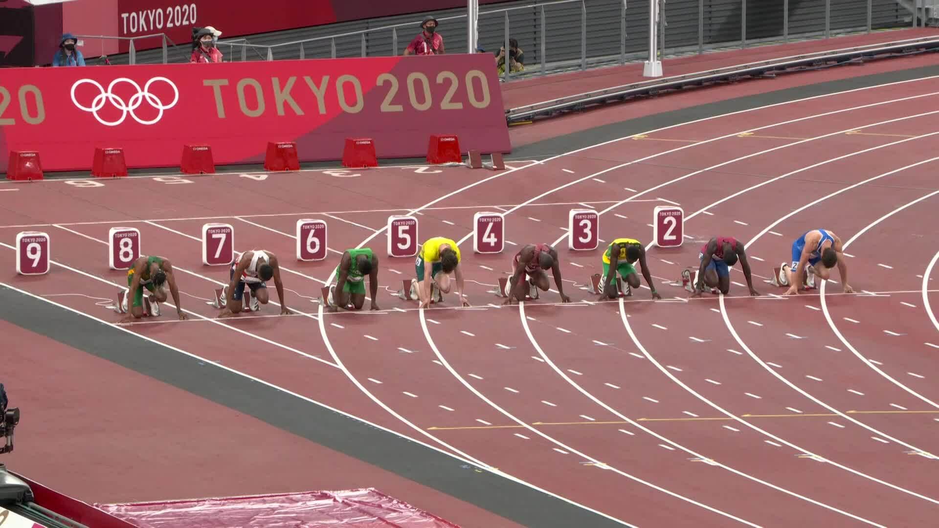 Bromell bỏ lỡ cơ hội vào chung kết 100m