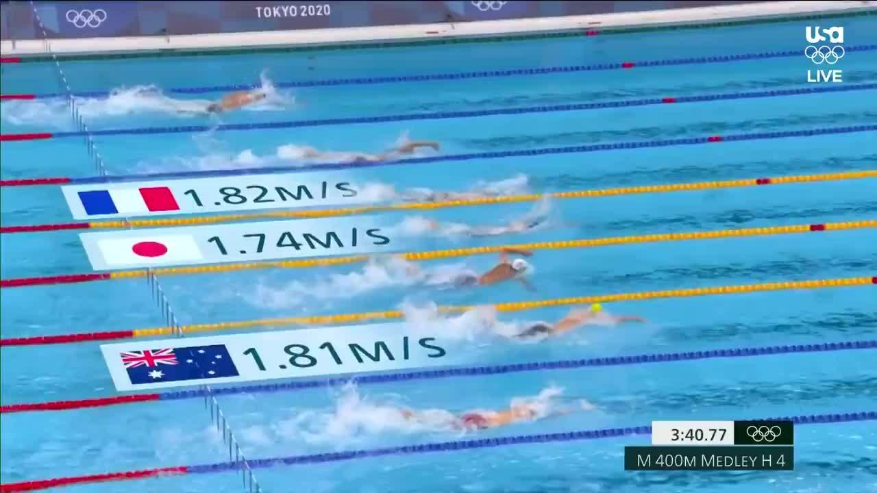Daiya Seto không vượt qua vòng loại 400m tự do