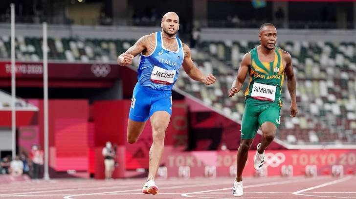 Marcell Jacobs memecahkan rekor Eropa dalam 100m