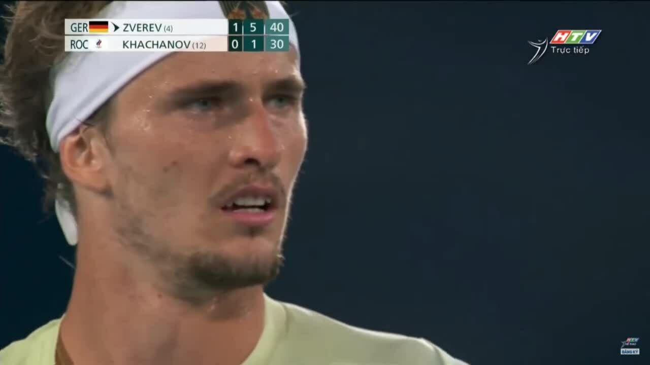Zverev giành HC vàng quần vợt Olympic