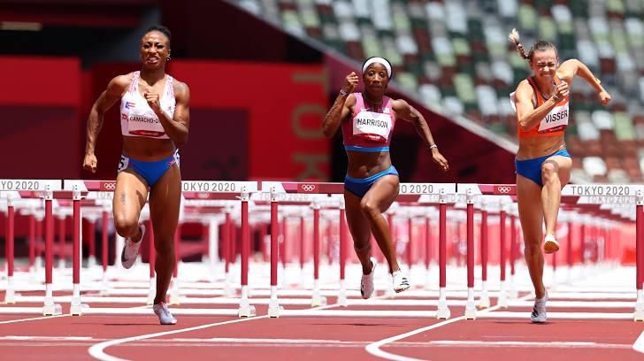VĐV Puerto Rico giành HCV 100m vượt rào nữ