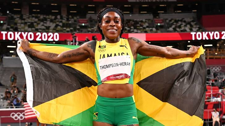 Elaine Thompson-Herah về nhất 200m nữ