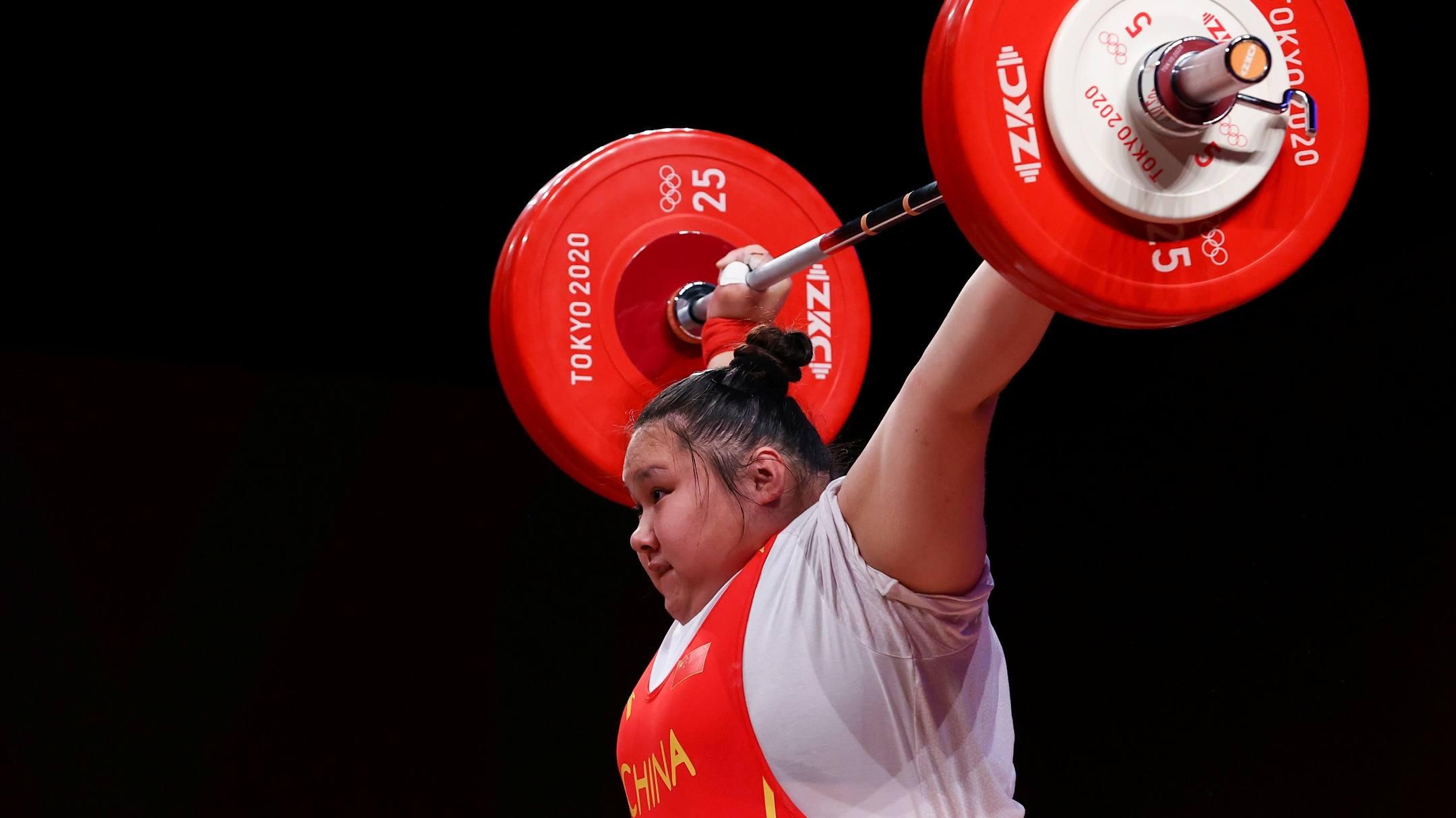 VĐV Trung Quốc phá kỷ lục nâng tạ thế giới