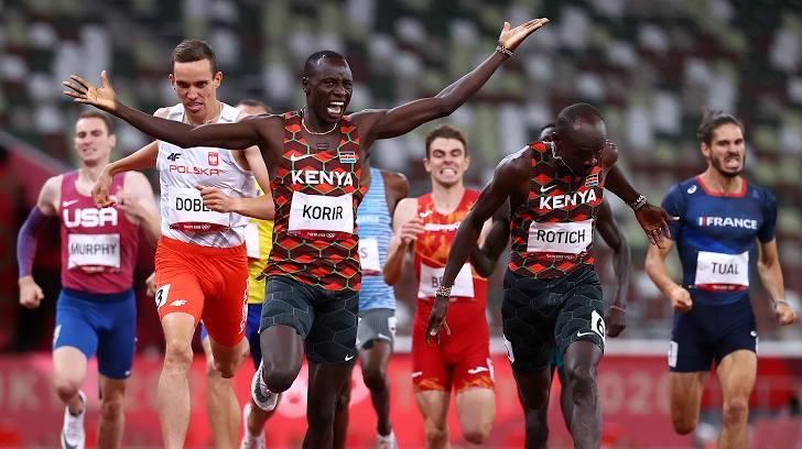 VĐV Kenya đầu tiên giành HCV điền kinh tại Tokyo 2020