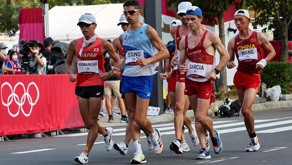 Italia giành HC Vàng đi bộ 20km