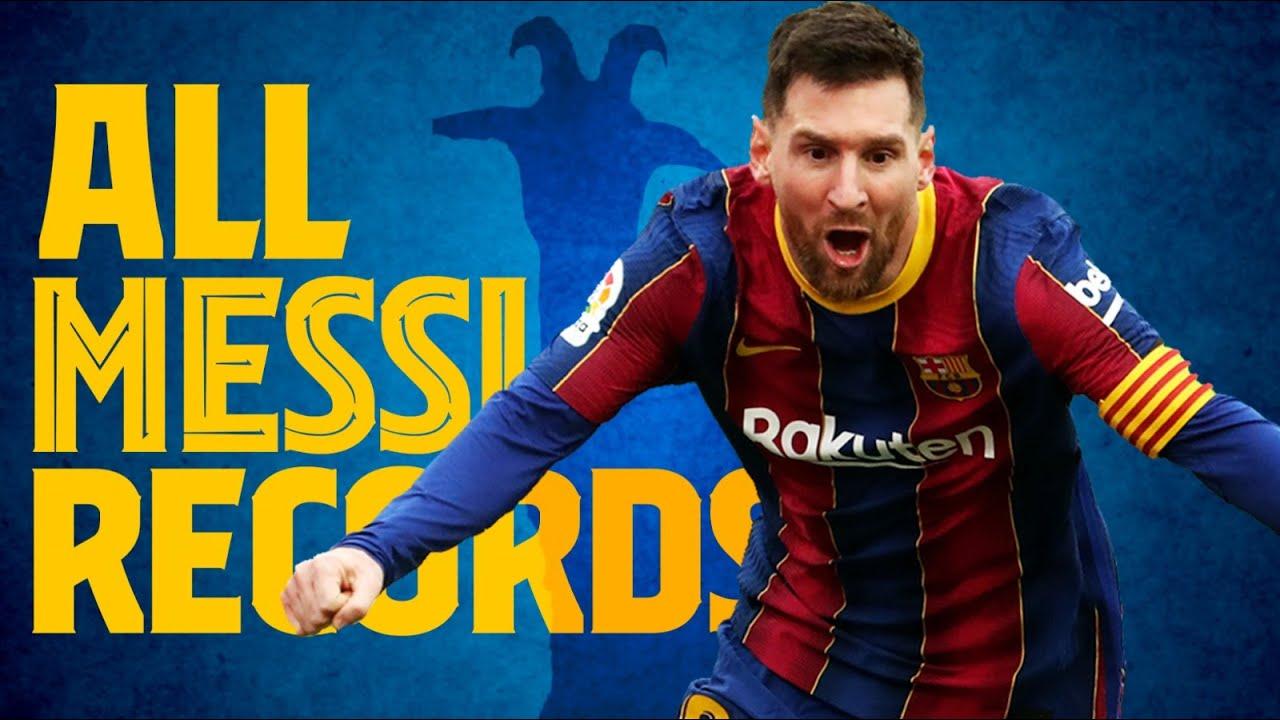Messi và những kỷ lục tại Barca