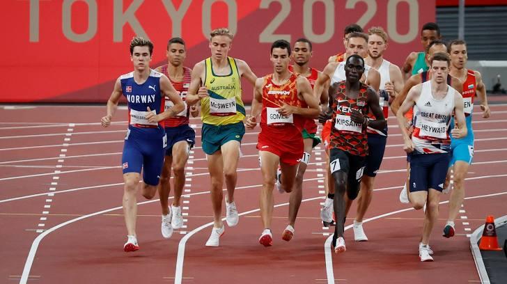 VĐV Kenya phá kỷ lục Olympic ở phần thi bán kết