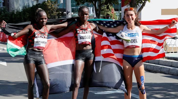 Peres Jepchirchir về nhất chung kết Marathon Nữ