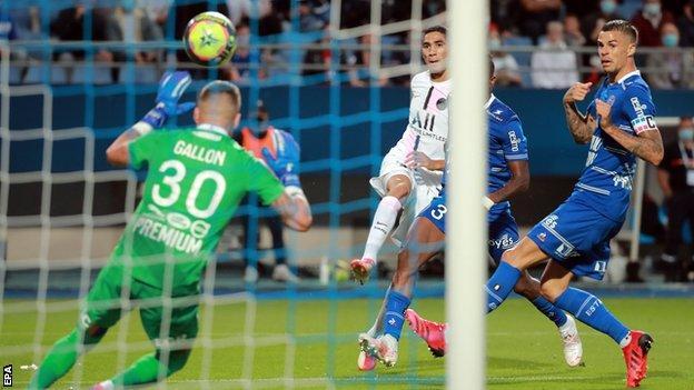 Troyes 1-2 PSG