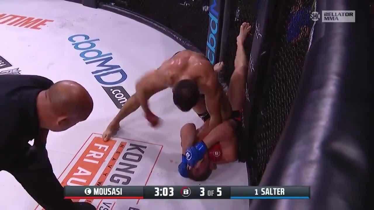 Mousasi defeated Salter