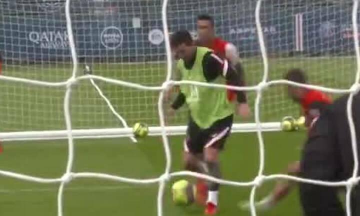 Messi tập cùng PSG hôm 16/8