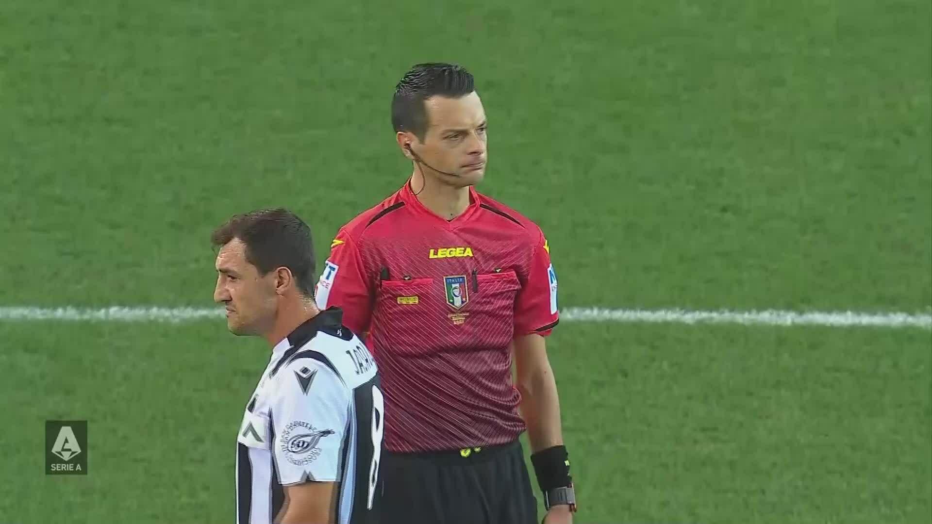 VAR từ chối bàn thắng của Juventus