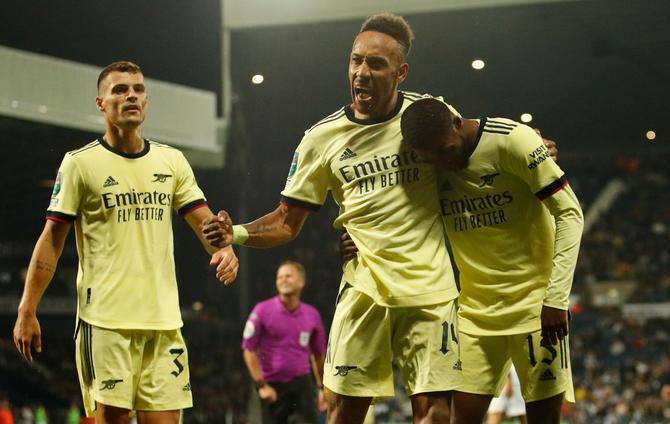 West Brom 0-6 Arsenal