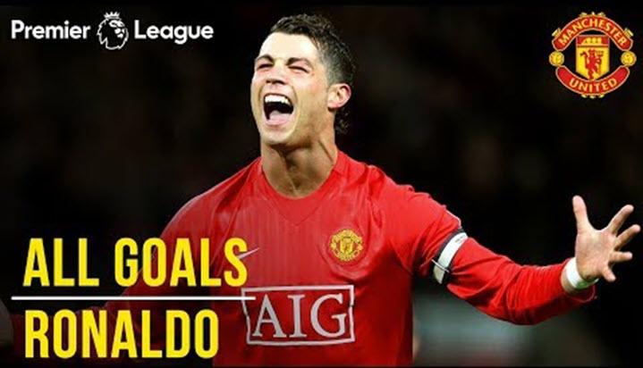 84 bàn thắng của Ronaldo tại Ngoại hạng Anh