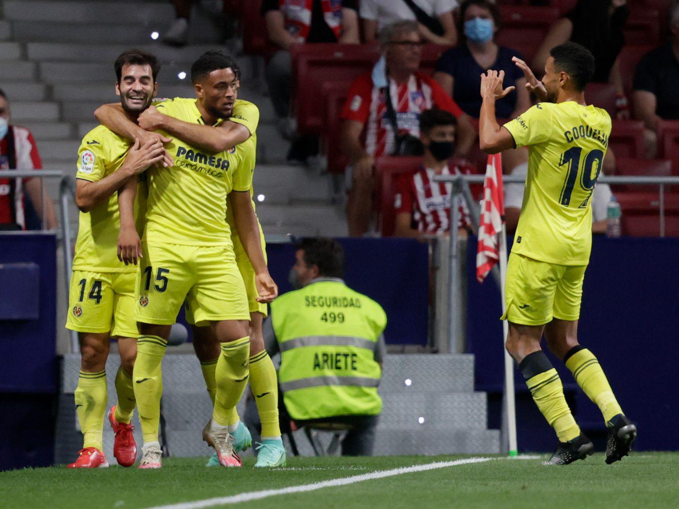 Atletico 2-2 Villarreal
