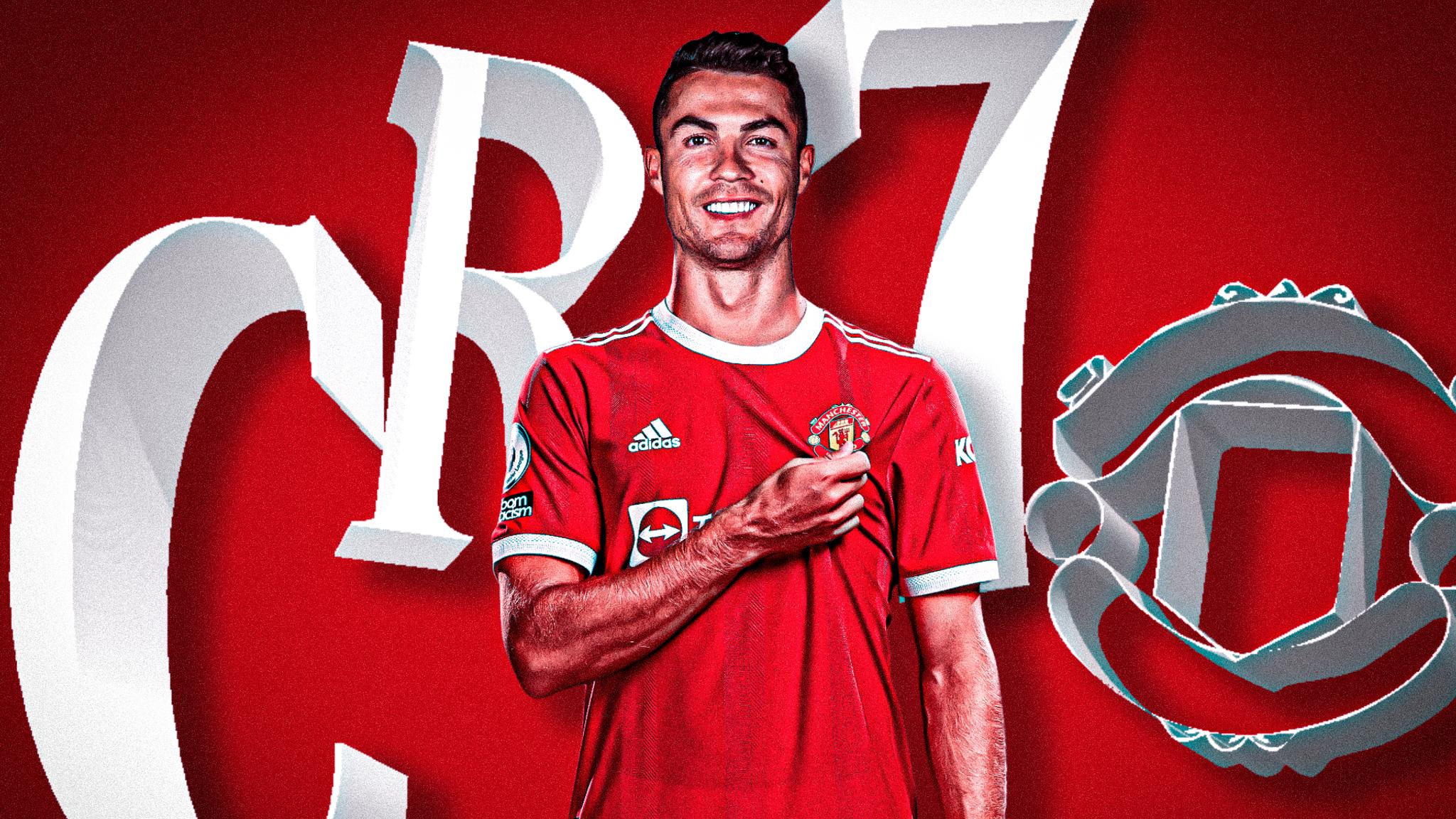 Ronaldo quay xe về Man Utd