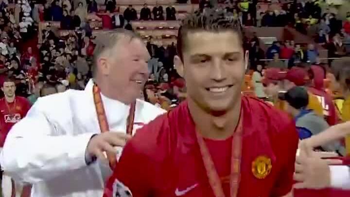Ronaldo nói về vai trò của Sir Aler khi về lại Man Utd